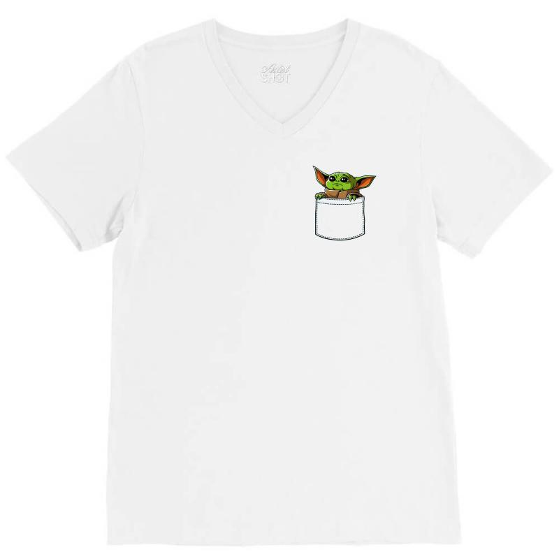 Yoda Pocket V-neck Tee | Artistshot
