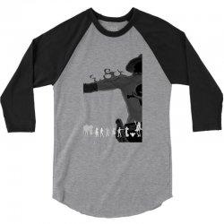 one piece amoled 3/4 Sleeve Shirt | Artistshot