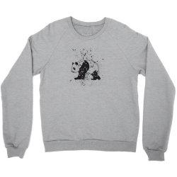 Panda Crewneck Sweatshirt   Artistshot