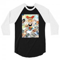 one piece cover 3/4 Sleeve Shirt | Artistshot