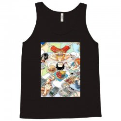 one piece cover Tank Top | Artistshot