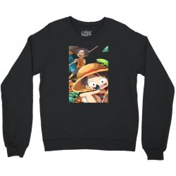 one piece luffy Crewneck Sweatshirt | Artistshot