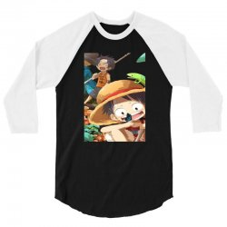 one piece luffy 3/4 Sleeve Shirt | Artistshot