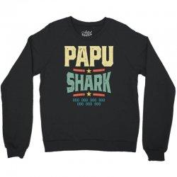Mens Retro Vintage Papu Shark Tee Funny Birthday Gifts Family Crewneck Sweatshirt | Artistshot