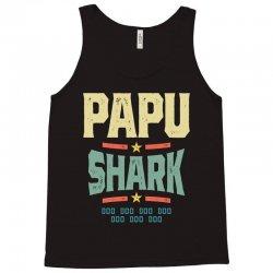 Mens Retro Vintage Papu Shark Tee Funny Birthday Gifts Family Tank Top | Artistshot