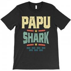 Mens Retro Vintage Papu Shark Tee Funny Birthday Gifts Family T-Shirt | Artistshot