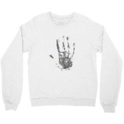 Hand Crewneck Sweatshirt | Artistshot