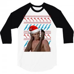 american psycho ugly sweater 3/4 Sleeve Shirt | Artistshot