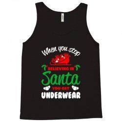 believe in santa Tank Top | Artistshot