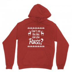 can't see the line can you russ Unisex Hoodie | Artistshot