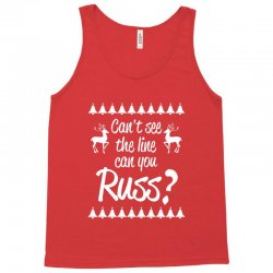 can't see the line can you russ Tank Top | Artistshot