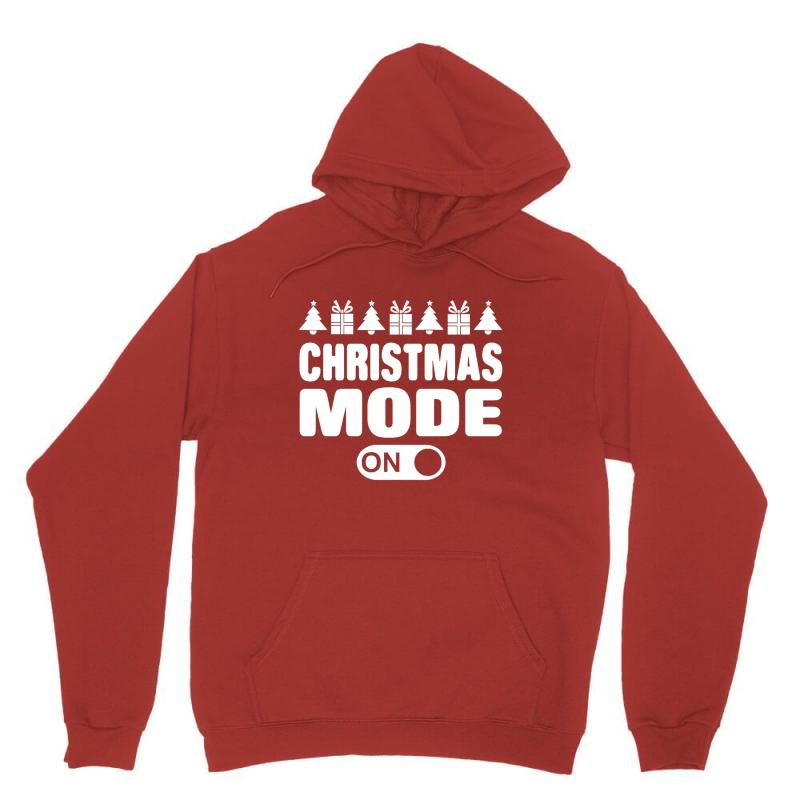 Christmas Mode On Unisex Hoodie | Artistshot