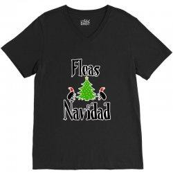 fleas navidad funny feliz navidad christmas V-Neck Tee | Artistshot