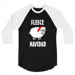 fleece navidad 3/4 Sleeve Shirt | Artistshot