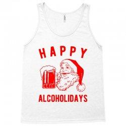 happy alcoholidays Tank Top | Artistshot