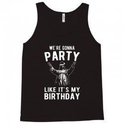 we're gonna party like it's my birthday jesus christmas Tank Top | Artistshot
