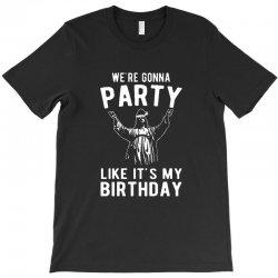 we're gonna party like it's my birthday jesus christmas T-Shirt | Artistshot