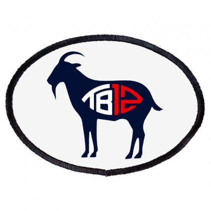 Tb12 Goat Oval Patch Designed By Jasmine Tees