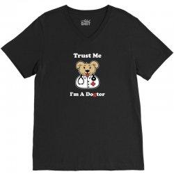 trust me i'm a dogtor V-Neck Tee | Artistshot
