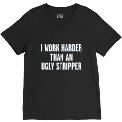 ugly stripper V-Neck Tee | Artistshot