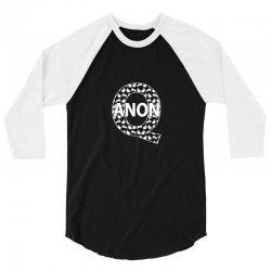q anon 3/4 Sleeve Shirt | Artistshot