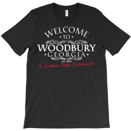 Welcome To Woodbury Georgia T-shirt Designed By C4hya