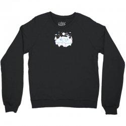 white deer Crewneck Sweatshirt | Artistshot