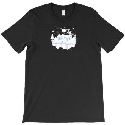White Deer T-shirt Designed By C4hya