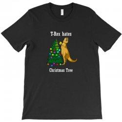 t rex hates christmas T-Shirt   Artistshot