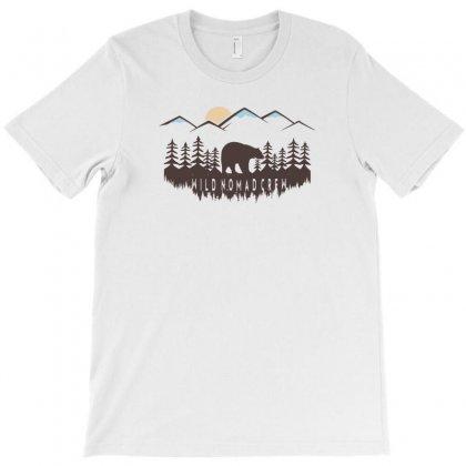 Wild Nomad Crew T-shirt Designed By C4hya