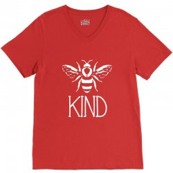 bee kind V-Neck Tee | Artistshot