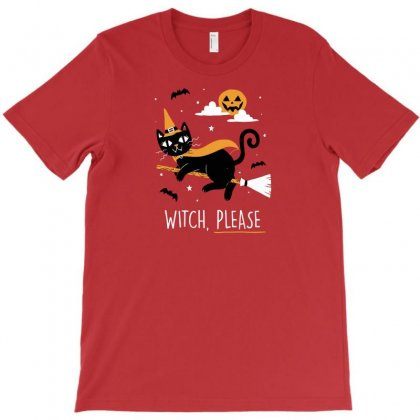 Witch Pls T-shirt Designed By C4hya