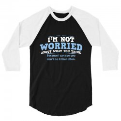 worried think 3/4 Sleeve Shirt | Artistshot