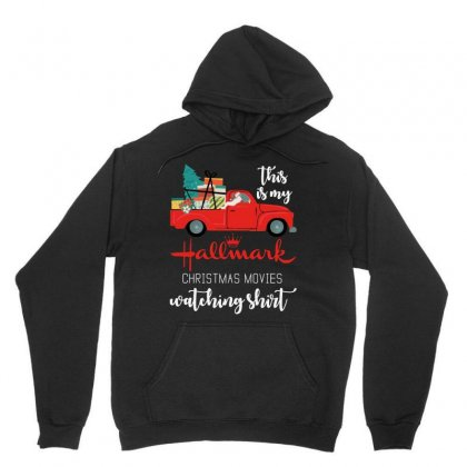 This Is My Hallmark Christmas Movies Watching Unisex Hoodie Designed By Rosdiana Tees