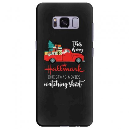 This Is My Hallmark Christmas Movies Watching Samsung Galaxy S8 Plus Case Designed By Rosdiana Tees