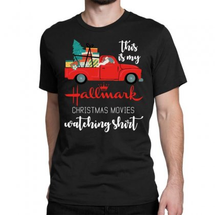 This Is My Hallmark Christmas Movies Watching Classic T-shirt Designed By Rosdiana Tees