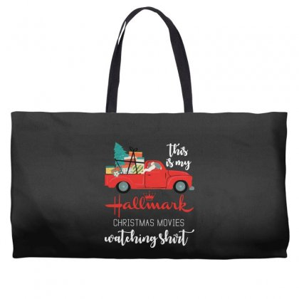 This Is My Hallmark Christmas Movies Watching Weekender Totes Designed By Rosdiana Tees