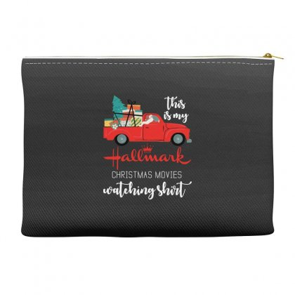 This Is My Hallmark Christmas Movies Watching Accessory Pouches Designed By Rosdiana Tees