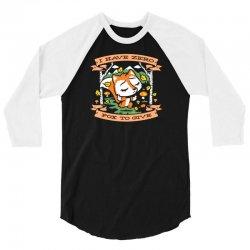 zero fox to give 3/4 Sleeve Shirt | Artistshot