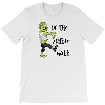 Zombie Walk T-shirt Designed By C4hya