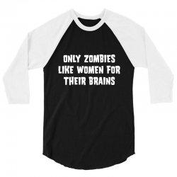 zombies women 3/4 Sleeve Shirt | Artistshot