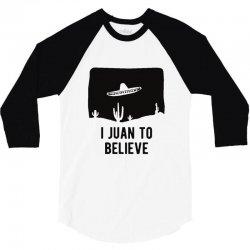 i juan to believe 3/4 Sleeve Shirt | Artistshot