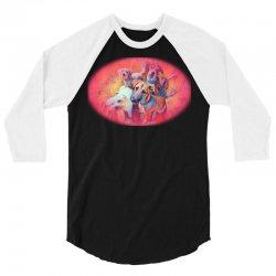 dogs 3/4 Sleeve Shirt   Artistshot
