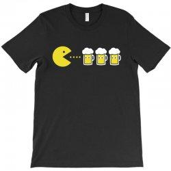 pacman beer T-Shirt | Artistshot