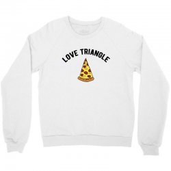 pizza love triangle Crewneck Sweatshirt | Artistshot