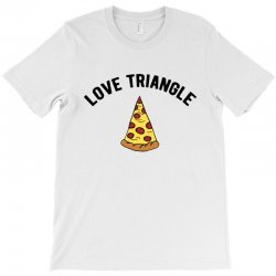 pizza love triangle T-Shirt | Artistshot