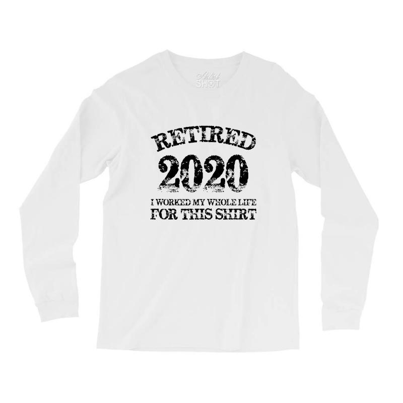 Retired 2020 Long Sleeve Shirts   Artistshot