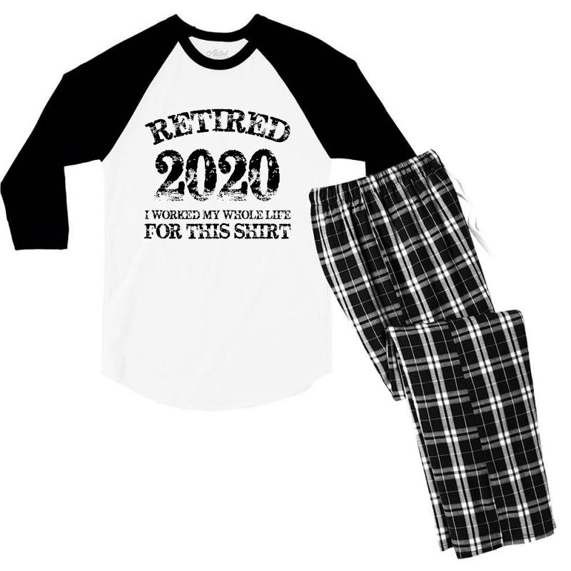 Retired 2020 Men's 3/4 Sleeve Pajama Set | Artistshot