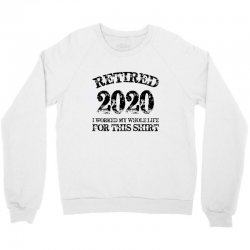 retired 2020 Crewneck Sweatshirt | Artistshot