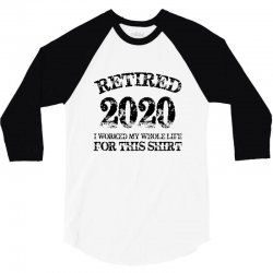 retired 2020 3/4 Sleeve Shirt | Artistshot